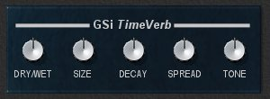 TimeVerb - an easy to use freeware reverb effect